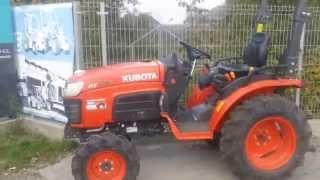 KUBOTA B 2230 japoński traktor. Ciągnik ogrodniczy. www.akant-ogrody.pl