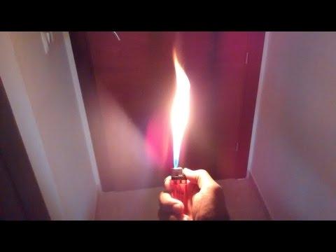видео: Как сделать огнемет из зажигалки.