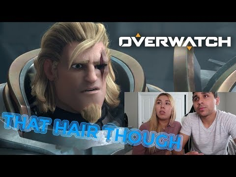 Jealous of the Hair | B&D Reaction | Overwatch Animated Short |