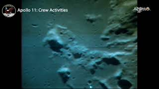 Historic Apollo 11 Moon Landing Footage