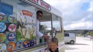 Cornwall Kid: Par Sands Beach & Par Train Railway GWR Station 27th May 2017