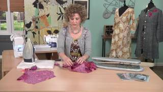 Kay Whitt Shows How To Sew Set-In Sleeves on It's Sew Easy (1106-1)