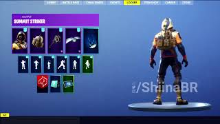 New LEAKED SUMMIT STRIKER SKIN With BACKBLING Coming To FORTNITE