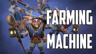 Singsing Meepo - Farming machine Dota 2