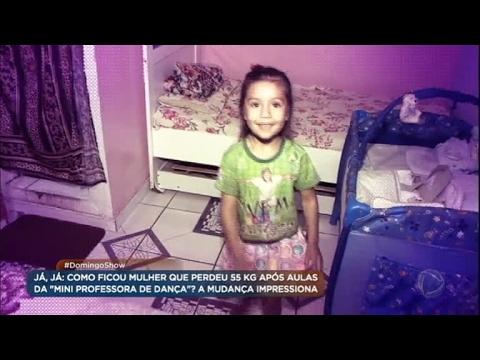 Com apenas seis anos, garotinha dá aula de dança e ajuda pessoas a mudar de vida