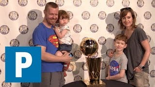 NBA championship trophy visits Vancouver   The Province