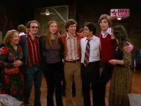 That 70s show dancing. Shake Your Grove Thing.