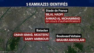 Attentats: cinq kamikazes sur sept formellement identifiés