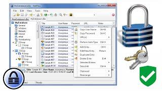 Passwörter sicher und komfortabel verwalten mit KeePass | QSO4YOU Tech