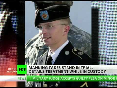 Bradley Manning describes being tortured
