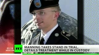 Bradley Manning describes being tortured