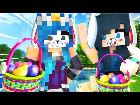 MINECRAFT FIND THE BUTTON! EASTER EDITION!!