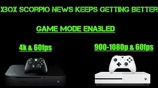 New Xbox Scorpio Leaks! Explains How Scorpio Gets True 4K Rendering And More! WOW!!