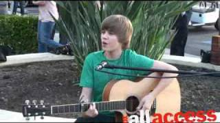 "Justin Bieber - ""One Time"" Live!"