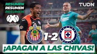 Resumen y Goles | Chivas 1 - 2 Cruz Azul | Liga Mx - J-6 CL-2020 | TUDN