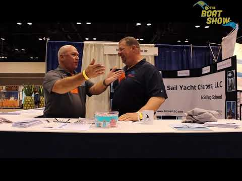 Full Sail Yacht Charters At The 2018 Chicago Boat, RV & Sail Show