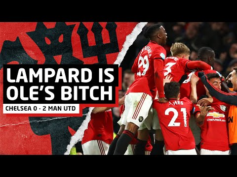 Solskjaer Owns Lampard | Chelsea 0-2 Man United | United Review