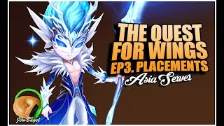 SUMMONERS WAR: The Quest For Wings (RTA Team Building Ep.3 Season 10 Placement Battles)