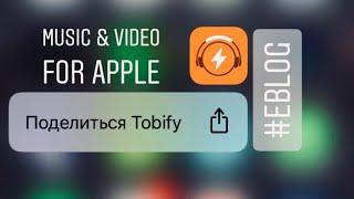 Как скачать музыку и фильмы на Iphone 📲Tobify