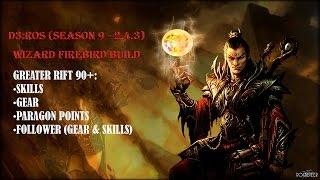 diablo 3 wizard build 2 4 3 season 9 firebird archon gr90s