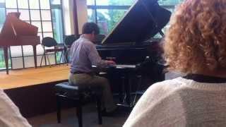 noah shafner s piano recital on 8 20 14 at tunxis community college in farmington ct
