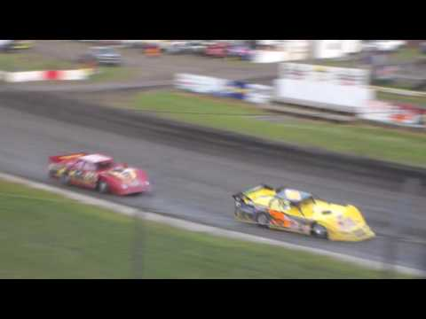 Late Model Heat 2 @ Hamilton County Speedway 06/10/17