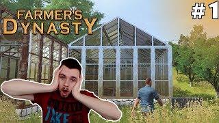 NAJLEPSZA GRA ROLNICZA! :O #1 - Farmer's Dynasty   SWIATEK