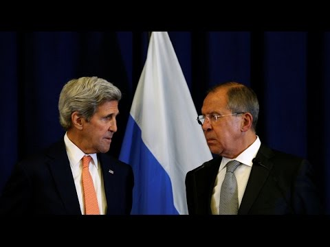 Trying for truce: Lavrov & Kerry hold one-on-one meeting after UN debate