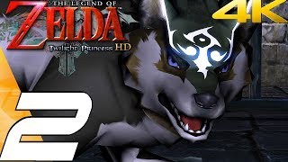 Legend of Zelda Twilight Princess HD - Gameplay Walkthrough Part 2 - The Twilight (Remaster) 4K