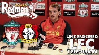 Liverpool 3-1 Leverkusen: Rodgers Post Match Press Conference