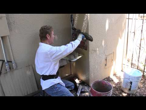 Simple Chimney Stucco Repairs Over Bricks For The DIy'er