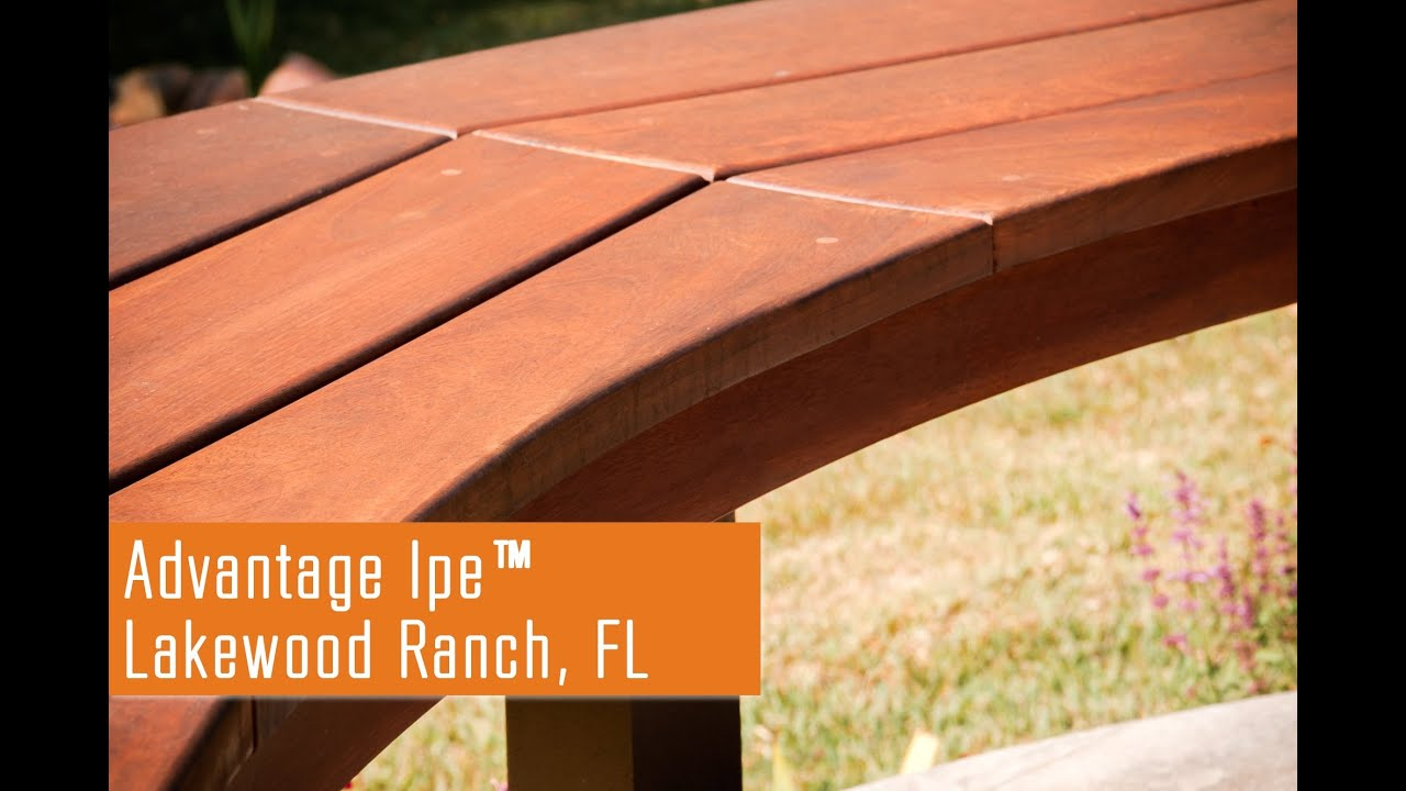 Patio remodeling project featuring ipe deck tiles siding youtube baanklon Images
