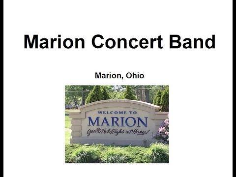 Concert: 7-6-2014, Marion Concert Band
