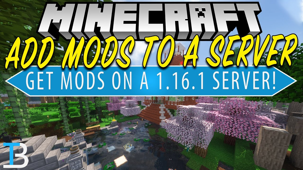 How To Add Mods to a Minecraft Server in Minecraft 1 16 1 YouTube