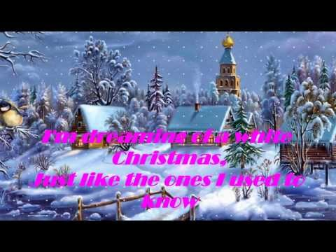 Bing Crosby - White Christmas [Lyrics] HD