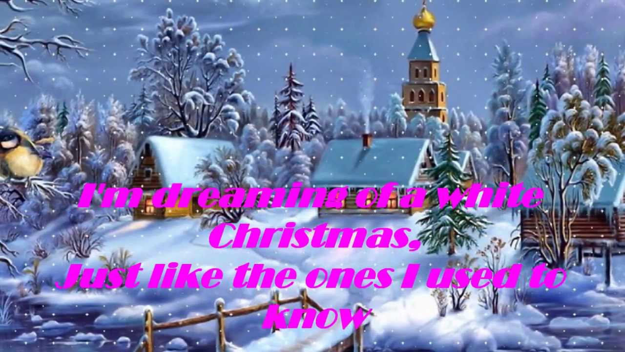 White Christmas Lyrics.Bing Crosby White Christmas Lyrics Hd