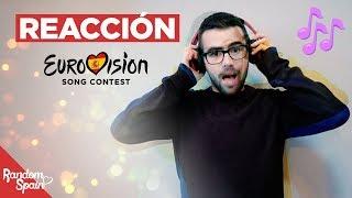 Reacción a canciones presentadas a RTVE | España Eurovision 2019