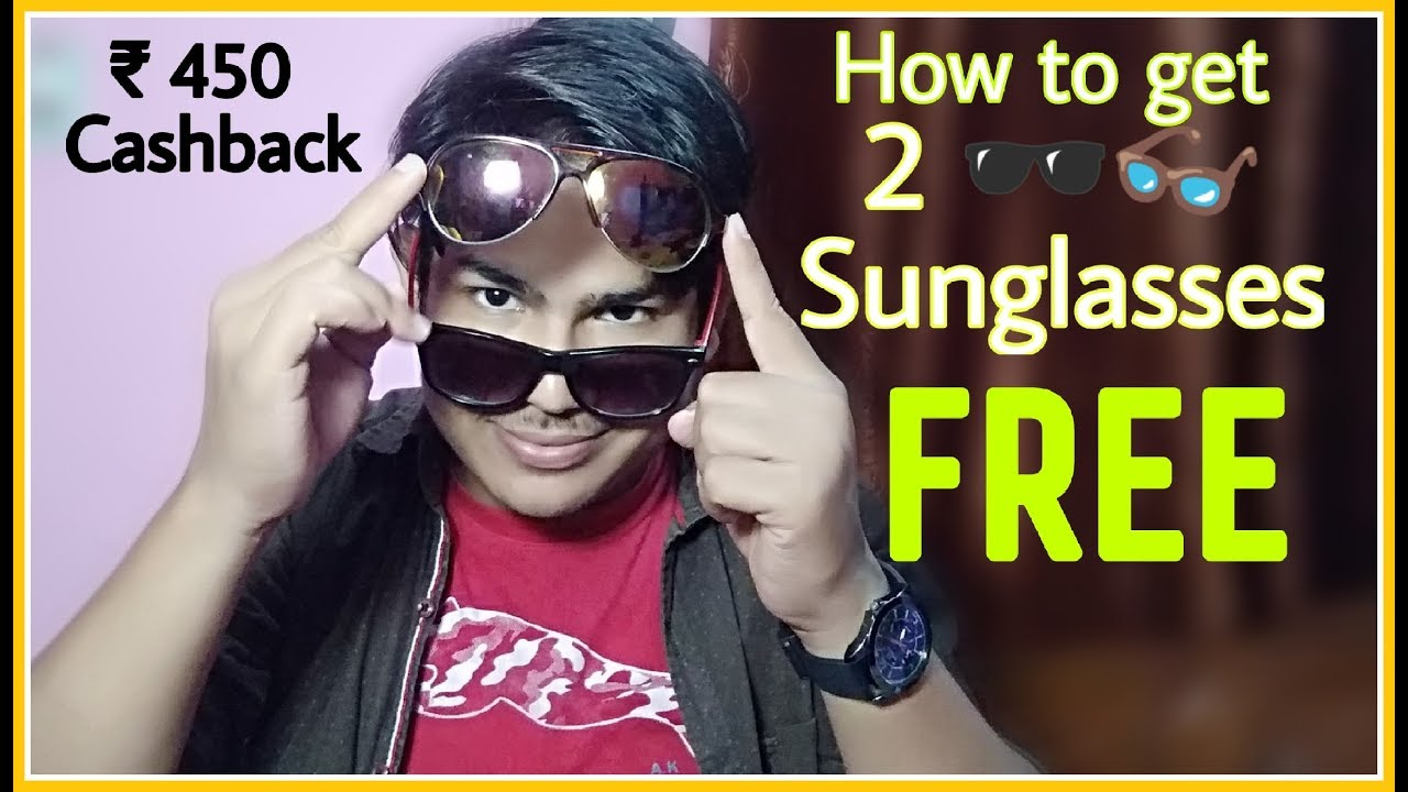 f6669442ea Loot Deal  Get 2 Free Sunglasses 🕶