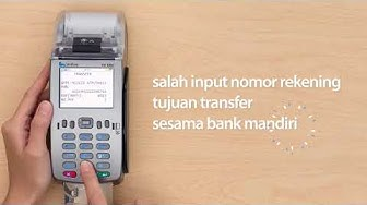 Transaksi error dengan keterangan do not honour