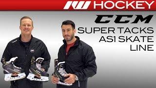 CCM Super Tacks AS1 Skate Line Insight // On-Ice