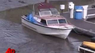 Raw Video: Tsunami Beaches Calif. Boats