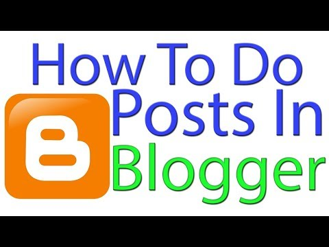 How to Create Blog Post/Articles