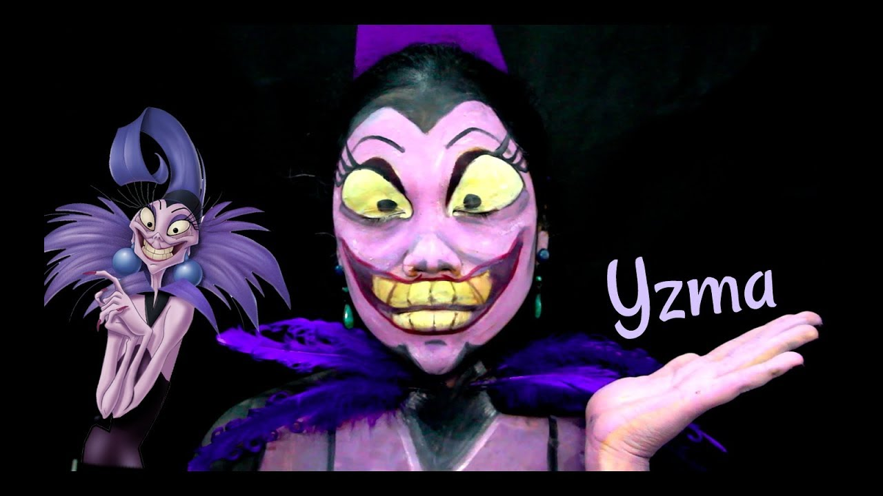 yzma the emperors new groovemakeup transformation