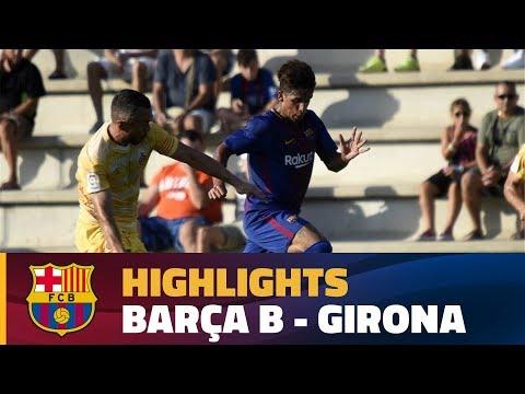 [HIGHLIGHTS] (Friendly): Barça B - Girona (2-2)