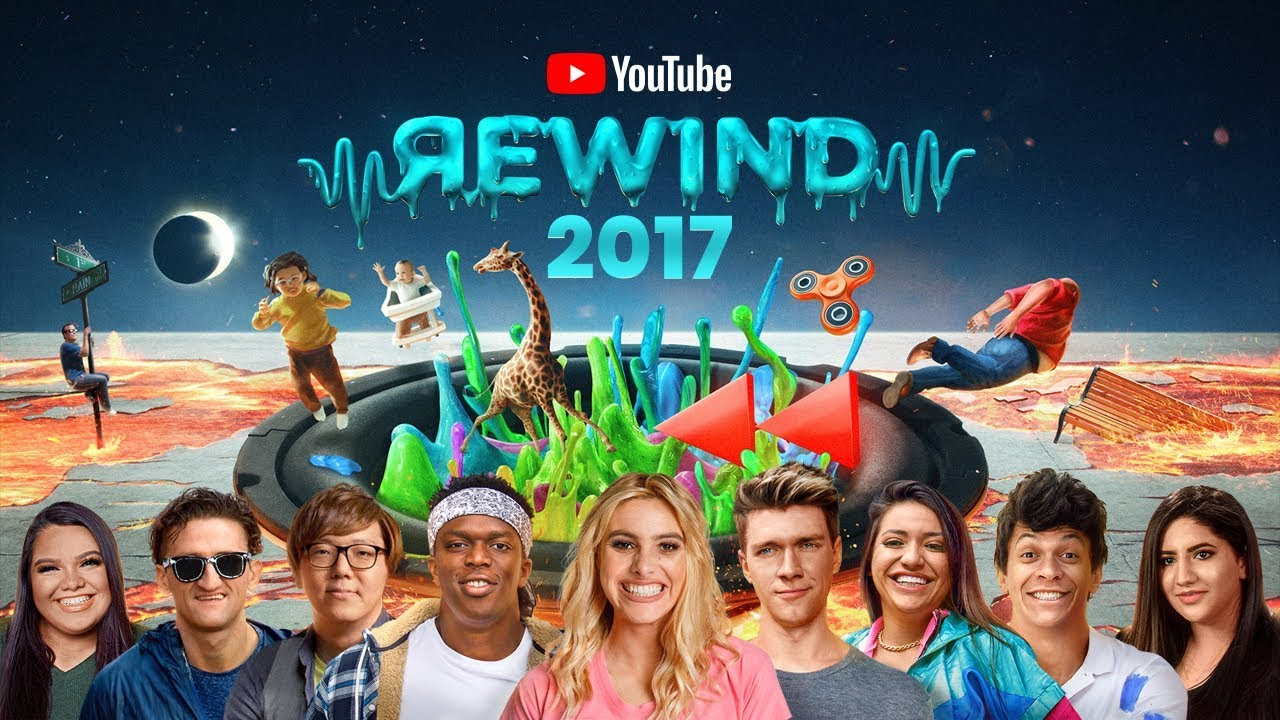 YouTube Rewind The Shape Of 2017