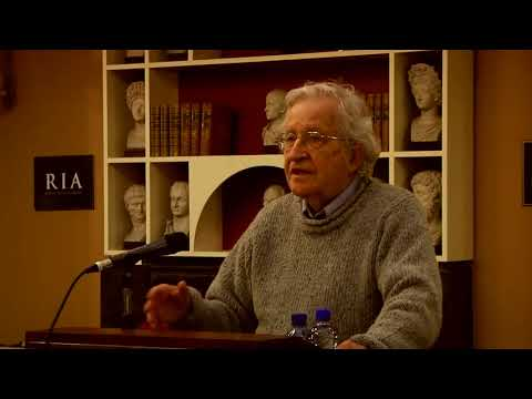 Noam Chomsky Brexit | Language Use & Design   Conflicts & Their Significance |  Prof Noam Chomsky