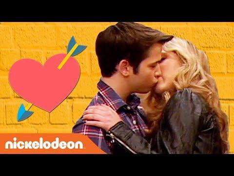 Sam \u0026 Freddie's First \u0026 Last Kisses 😘 | iCarly | #TBT