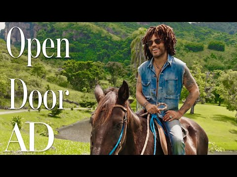 Inside Lenny Kravitz's Brazilian Farm Compound |WATCH