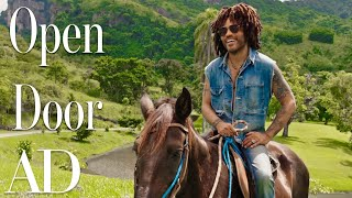 Download Inside Lenny Kravitz's Brazilian Farm Compound | Open Door | Architectural Digest Mp3 and Videos