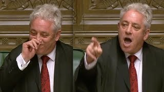"""Speaker John Bercow forced to bite the dust after telling MP Hands """"he wasn't very good Tory whip'"""